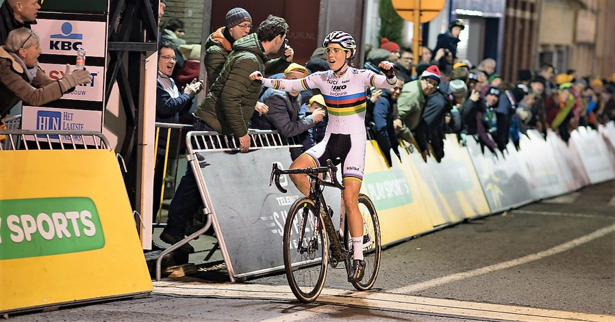 Sanne Cant wint Diegem en wordt leidster in Superprestige